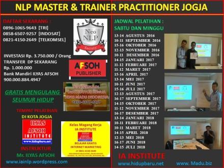 Sertifikasi Trainer NLP Indonesia